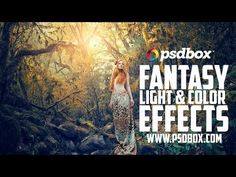 Fairytale Forest - Color and Light Effects Tutorial (PSD Box)