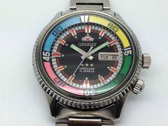 Orient King Diver.....Dad's ......