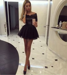 Black Homecoming Dress,Tulle Homecoming Dresses,Satin Homecoming Gowns,Party Dress,Short Prom Gown,Sweet 16 Dress,Corset Homecoming Dresses,Vintage Evening Dress Fitted Gowns