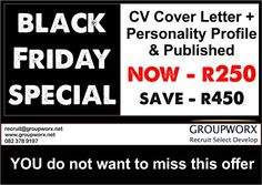 Groupworx is a people and business management consulting firm specialising in recruitment, selection, and development. Personality Profile, Cv Cover Letter, Good Employee, Business Management, Black Friday, Resume, Shape, Lettering, Amazing