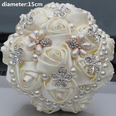 Cheap pearl bouquet, Buy Quality bouquet pearl directly from China bridal bouquet rose Suppliers: New Arrival Pearl Bouquet in Silk Ribbon Rose Artificial Bridal Flowers for Wedding Brooch Bridesmaid Bridal Bouquets Pearl Bouquet, Beaded Bouquet, Fabric Bouquet, Ribbon Bouquet, Wedding Brooch Bouquets, Diy Bouquet, Ribbon Rose, Silk Ribbon, Broschen Bouquets