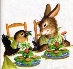 Richard Scarry's lovely drawings