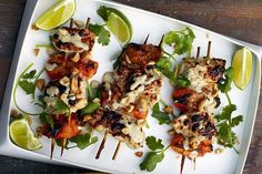 Chicken-Apricot Skewers | 34 Clean Eating Recipes That Are Perfect For Spring #JamiesCleanEatingrecipes
