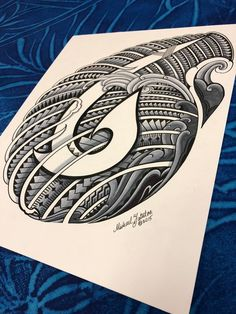 jpeg file only. inspired from ancient samoan legends. original is on 11 x 14 strathmore paper. all rights reserved by owner of content. Polynesian Art, Polynesian Tattoo Designs, Wing Tattoo Designs, Tatau Tattoo, Marquesan Tattoos, Samoan Tattoo, Maori Tattoos, Hook Tattoos, Sleeve Tattoos