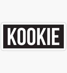 KOOKIE Sticker