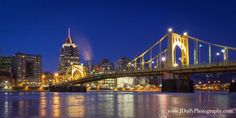 """#Pittsburgh just before sunrise."