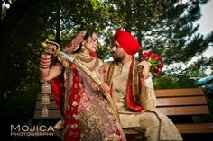 RB9 Outdoor Sikh Indian wedding ceremony portrait