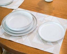 Brooke Thorn hand turned dinner set. http://moderntimes.com.au/