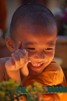 Happy little monk | Taken at the Wesak Day procession, Buddh… | Flickr