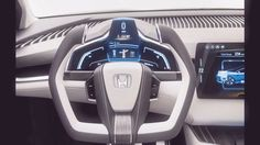 2017 Honda Clarity FCV Interior