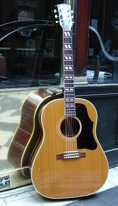 My dream guitar. 1959 Gibson Country Western. This might look like any other guitar out there, but the sound that resonates from this is beautiful.