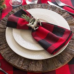 Plaid Washable Cotton Napkin Placemat  Free Shipping & 30 days Easy Return. Shop Affordable & Stylish Dresses, Tops, Shorts & More. # #Kitchen&Dining