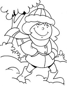 1000 images about home school weather clouds and water for Cold weather coloring pages