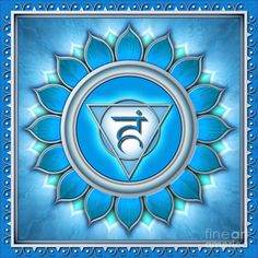 5th Chakra: The Throat Chakra; also known as Vishuddha (Sanskrit)  Is designated by the color Blue and explores the mixolydian mode of music. The Throat Chakra governs communication, independence, fluent thought and spirituality.