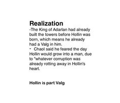 I thought we knew this when the Valg were first introduced???