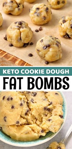Keto Desserts Cream Cheese, Low Fat Desserts, Low Fat Snacks, Low Fat Cookies, Sugar Free Cookies, Keto Cookies, Low Sugar Recipes, No Sugar Foods, Keto Recipes