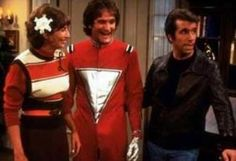 Mork from Ork on Happy Days