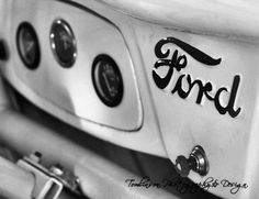 Vintage Ford Print