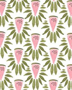 Fruit Patterns - Bouffants & Broken Hearts