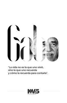 Gracias Gabo.