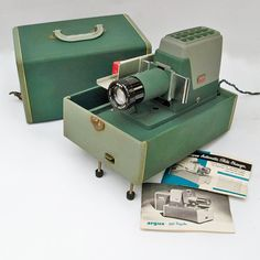 Mid Century Argus 300 Automatic Slide Projector by leapinglemming
