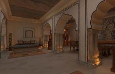 Alila Fort Bishangarh / Bishangarh, Near Jaipur, Rajasthan, India
