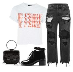 """driving me driving me"" by nnstylexo ❤ liked on Polyvore featuring Topshop, Alexander Wang and Nasty Gal"