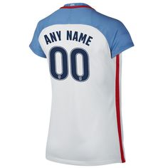 2016 Home Customized Jersey USA Women's Soccer #00 - White