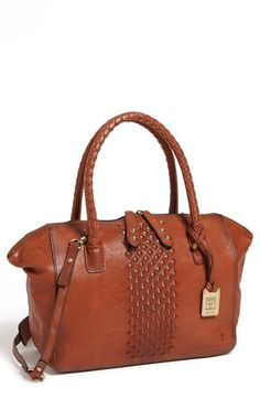 Free shipping and returns on Frye 'Jessee' Satchel (Online Only) at Nordstrom.com. Antiqued pyramid studs gradually emerge on a slouchy satchel crafted from finely pebbled leather. Woven carry handles further the look's earthy, authentic appeal.
