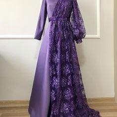 Hijab Dress Party, Hijab Style Dress, Hijab Wedding Dresses, Dress Brokat, Kebaya Dress, Stylish Dresses, Fashion Dresses, Hijabi Gowns, Beautiful Prom Dresses