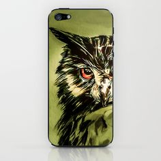 My Owl - Owliver iPhone & iPod Skin by Nuam - $15.00