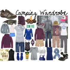 Camping Wardrobe by susanmcu on Polyvore featuring Velvet, Miss Selfridge, Roxy, Patagonia, Hanro, Old Navy, Uniqlo, Joe Browns, John Lewis and American Eagle Outfitters