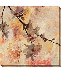 @Overstock - Gallery wrapped Rapture III canvas art Limited edition Giclee on canvas Comes with certificate of authenticityhttp://www.overstock.com/Home-Garden/Sara-Abbott-Rapture-III-Canvas-Art/2469278/product.html?CID=214117 $126.99