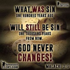 God says this again and again as a reminder to us all that no matter how much the world changes his word NEVER does. Good Scriptures, Bible Verses Quotes, Faith Quotes, What Are Sins, Great Quotes, Inspirational Quotes, God First, Gods Promises, Thats The Way
