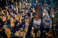 East 34th Street  Taken from the 86th floor observation level on the Empire State Building looking down East 34th Street at Three Park Avenue.  #USA #2008 #NewYork #Manhattan #BigApple #City #East34thStreet #ParkAvenue #ThreeParkAvenue #HDR #CityBreak #Landscapes #CityArchitecture