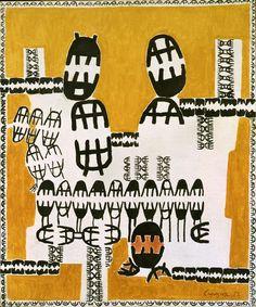 Il Liveblogging della mostra su Giuseppe Capogrossi alla Peggy Guggenheim Collection