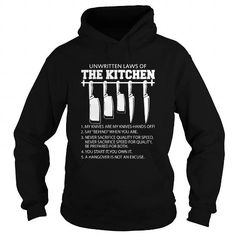 I Love  Unwritten Laws Of The Kitchen  Shirts & Tees