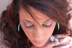 fun and funky make up Make Up, Earrings, Fun, Beauty, Jewelry, Fashion, Ear Rings, Moda, Stud Earrings