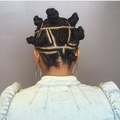 25 Sculptured Bantu Knots on Long and Short Hair — Twist It Your Way!