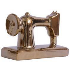 Máquina Costura Ceramic Golden - Trevisan Concept