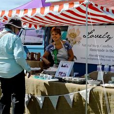 Setting up your stall with a vintage camper van makes your presence at a market an attraction. Here's how Lovely Greens has designed her…
