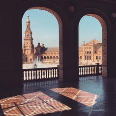 { TRAVELINGCOLORS } - Plaza de España, Sevilla   Spain (by Nacho Coca)