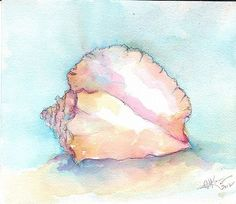 Seashell pink - by G.J. King from Seashells