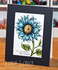 Have I told you how much I love coloring Power Poppy Digis? I am playing with Sunflower Power and Dancing With Daffodils Digis in tod. Sunflower Cards, Poppy Cards, Fall Cards, Christmas Cards, Sympathy Cards, Greeting Cards, Card Making Tutorials, Copics, Digital Stamps