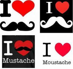 I love moustache !!!