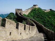 Grande muralha da China-uma muralha grande num pais ainda mais grande.