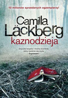 Kaznodzieja Camilla #Lackberg Nowa okładka