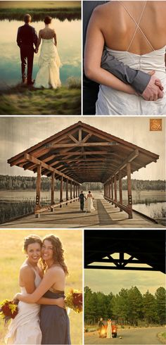 Again with this wedding.  So pretty.  This photographer and location are amazing.  I just have NO idea what the name is