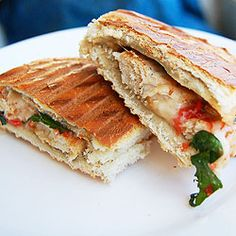 Oh yes. This was just delightful. Chicken Caprese Panini. Fail proof I'd say.