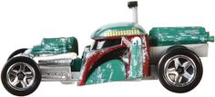 AmazonSmile: Hot Wheels Star Wars Character Car, Boba Fett: Toys & Games